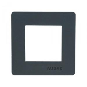 Audac CP45CF1/B - zwart afdekplaatje