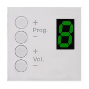 Audac MWX43/W wandcontroller wit