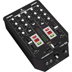 Behringer VMX200USB 2-kanaals Dj mixer