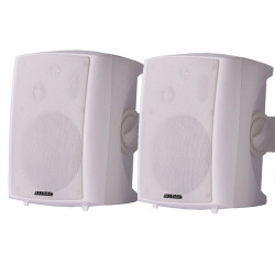 LX523/W actieve luidsprekerset wit