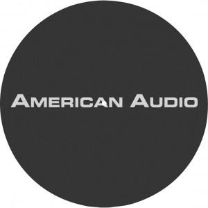 American Audio Slipmat AA (black)