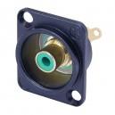 Neutrik NF2D-6 RCA socket blauw