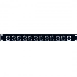 American Audio Distribution panel 12 XLR female
