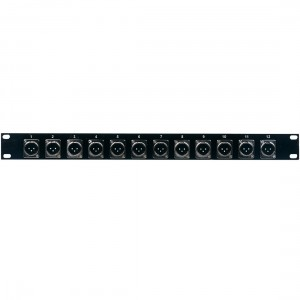 American Audio Distribution panel 12 XLR male