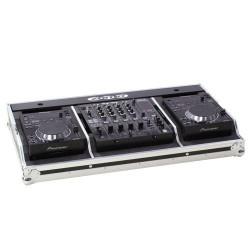 Flightcase Set 350 voor 2x CDJ-350 + 1x DJM-600/800/700
