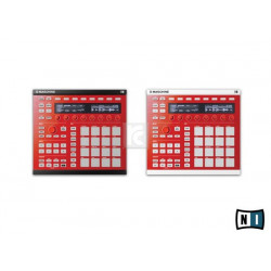 Custom kit Maschine MK2 Dragon Red