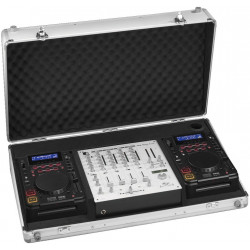 DJC-40TOP Dj Flightcase voor CD-82USB en MPX-480