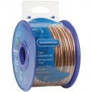 BRM1520 1,5 mm² luidsprekerkabel 20,0 m transparant