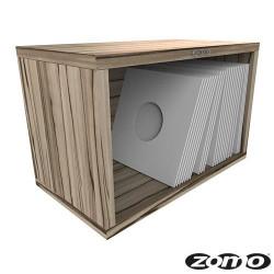 VS-BOX 7/100 platenkast 7 inch zebrano