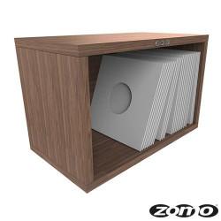 VS-BOX 7/100 platenkast 7 inch walnoot