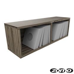 VS-BOX 7/200 platenkast 7 inch zebrano
