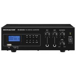 PA-802USB mixer versterker met cd