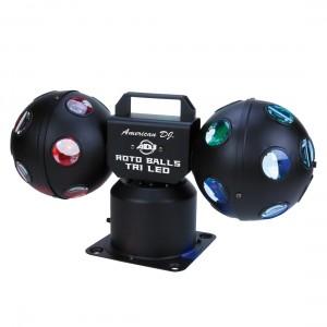 American DJ Roto Balls TRI LED