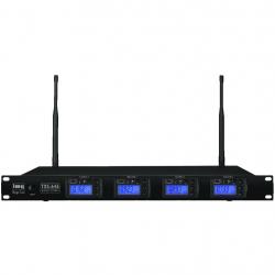 TXS-646 4-kanaals microfoon ontvanger