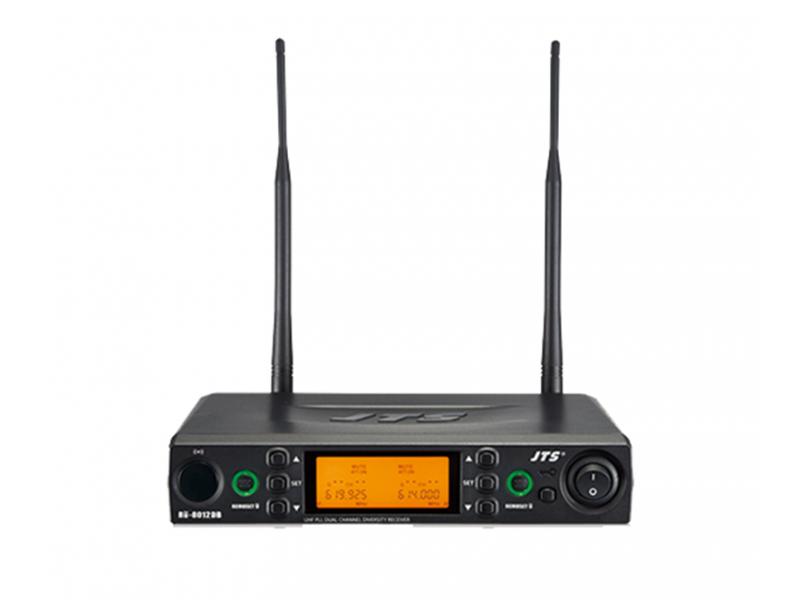 JTS RU-8012DB 1-kanaals draadloze microfoon ontvanger