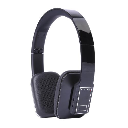 LTC Audio HDJ150BT-BL Draadloze opvouwbare bluetooth hoofdtelefoon - zwart (1)