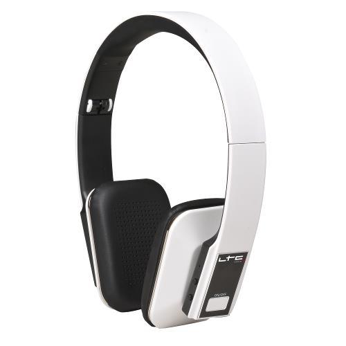 LTC Audio HDJ150BT-WH Draadloze opvouwbare bluetooth hoofdtelefoon - wit (1)