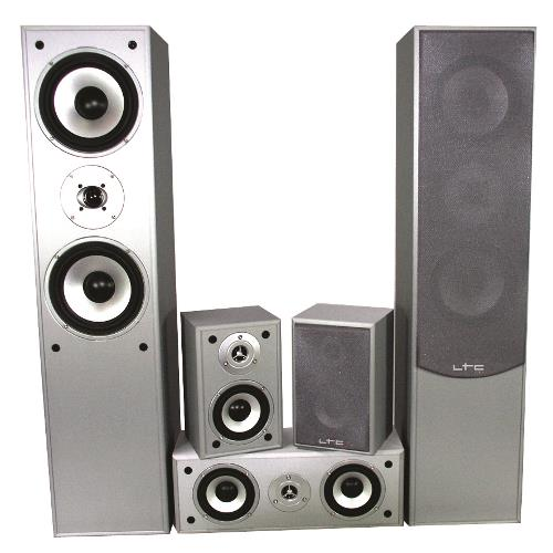 LTC Audio E1004SI 5.0 home theater systeem - zilver (1)
