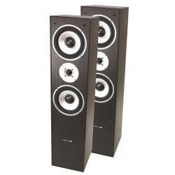 L766-bl 3-weg hifi bass reflex luidsprekers 350w -