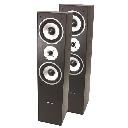LTC Audio L766-BL 3-weg hifi bass reflex luidsprekers 350w - zwart (1)