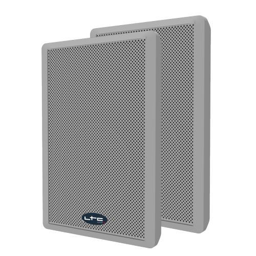 """LTC Audio SSP501F-W Extra-slanke 2-weg muurluidsprekers 5.25""""/13cm (1)"""