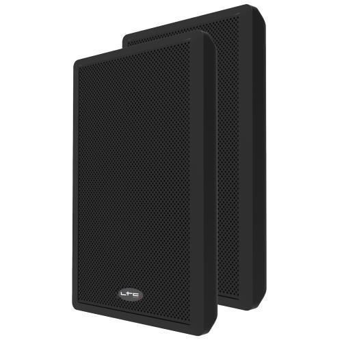 """LTC Audio SSP501F-B Extra-slanke 2-weg muurluidsprekers 5.25""""/13cm (1)"""