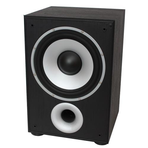 LTC Audio SW100BL Actieve bass speakers 100w - zwart (1)