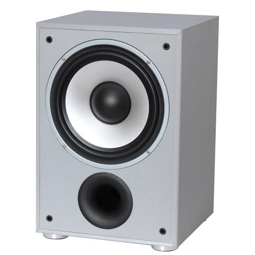 LTC Audio SW100SI Actieve bas luidsprekers 100w - zilver (1)