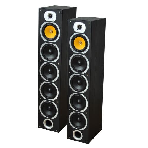 LTC Audio V7B-BL 4-weg hifi kolomluidsprekers - zwart (1)