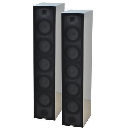 LTC Audio V7B-WH 4-weg hifi kolomluidsprekers - wit (1)