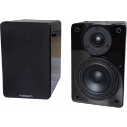 Mad-bs4bl hi-fi bibliotheek speakers 60w