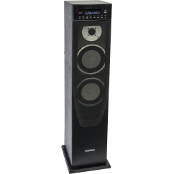 Mad-center200cd-bk actieve kolom center met usb, cd,