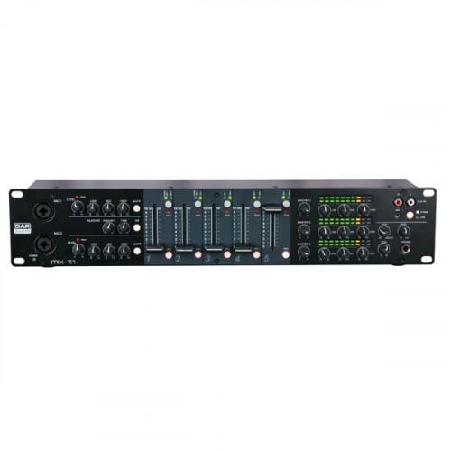 DAP Audio IMIX-7.1 7-kanaals rackmixer