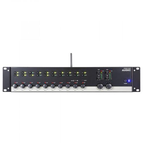 Audac PRE220 10-kanaals mixer met 2 zones