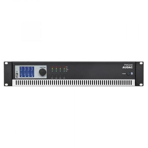 Audac PMQ240 4-kanaals 100V eindversterker