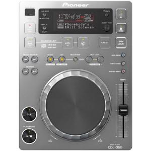 Pioneer CDJ 350S Cd speler zilver