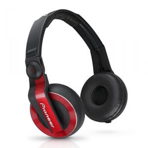 Pioneer HDJ 500 Dj hoofdtelefoon rood
