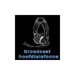 Broadcast hoofdtelefoons