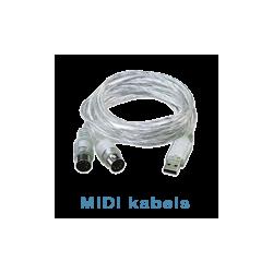 MIDI kabels