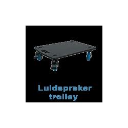 Luidspreker trolley