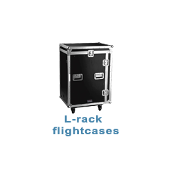 L-rack flightcases