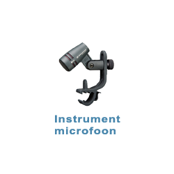 Instrument microfoons