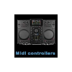 Midi controllers/spelers