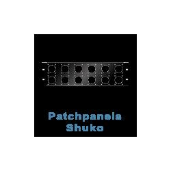 Patchpanel Shuko