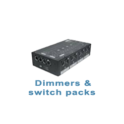 Dimmer en switch packs