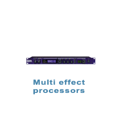 Multi effect processors