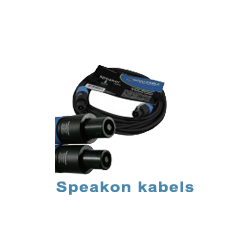 Speakon kabels
